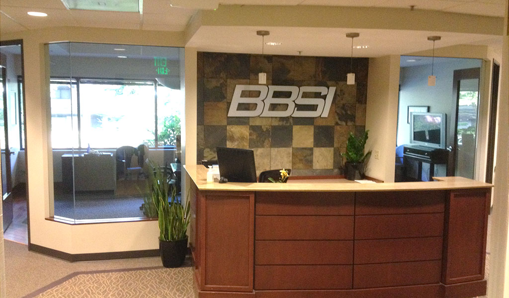 Barret Business Systems - 2nd floor reception