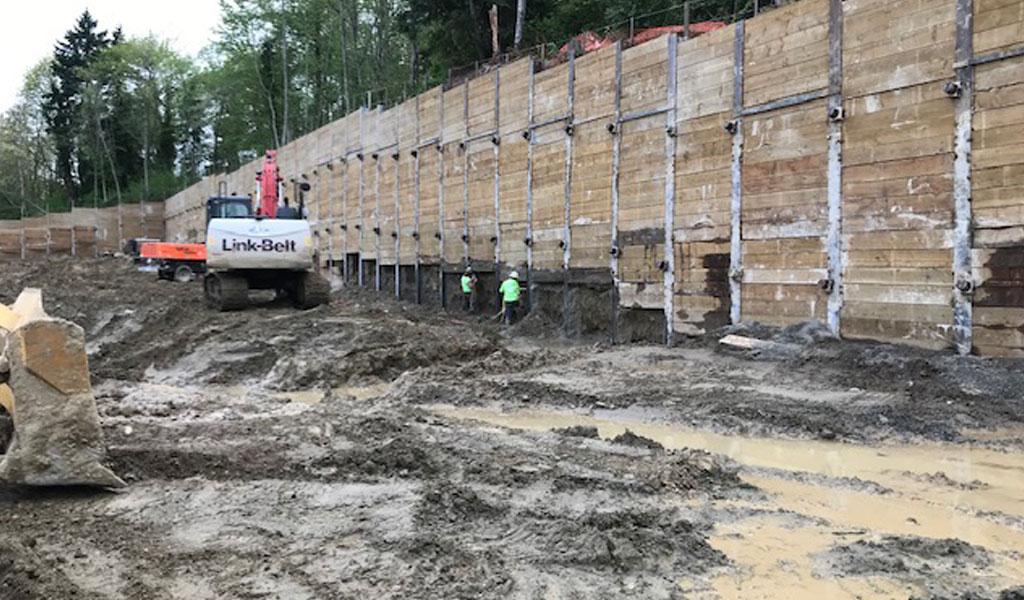 Premiere-Storage under construction